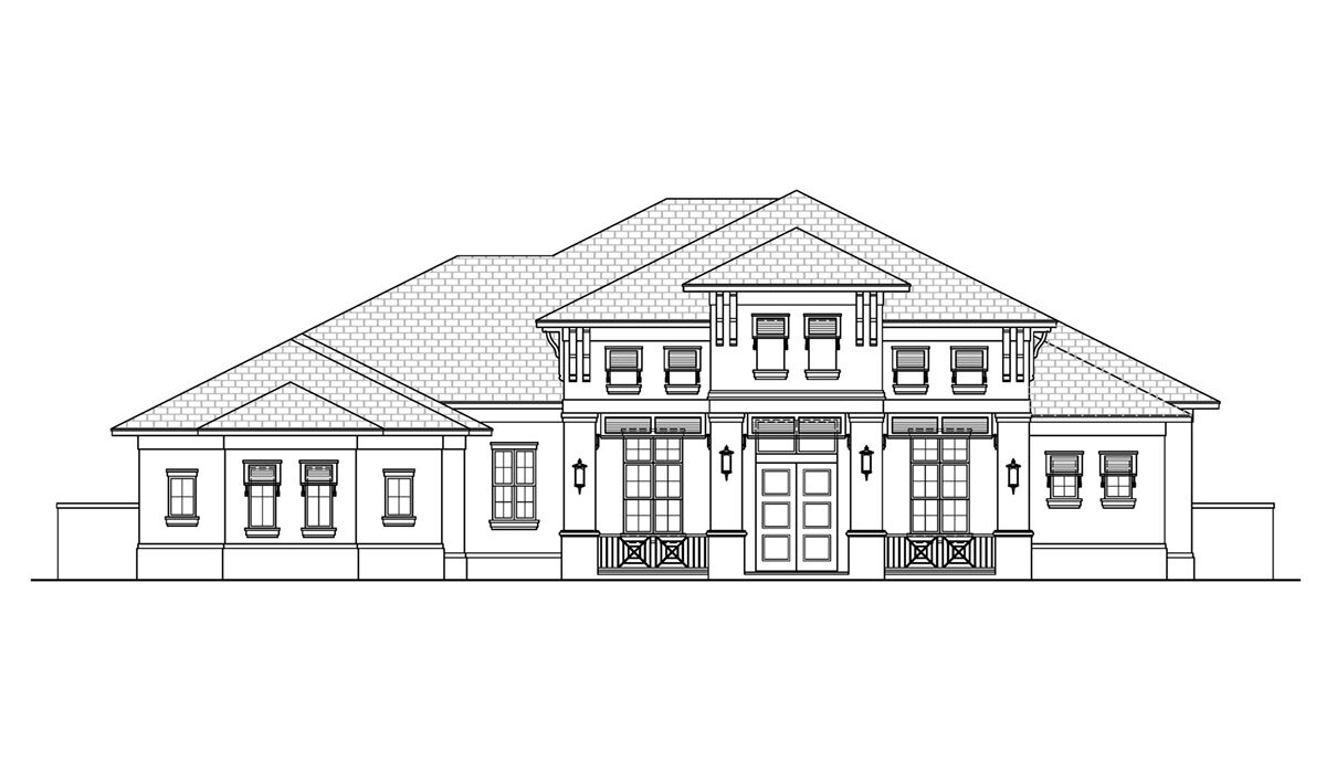 F1-3696 Front Elevation