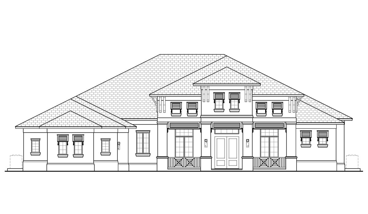 F1-4284 Front Elevation