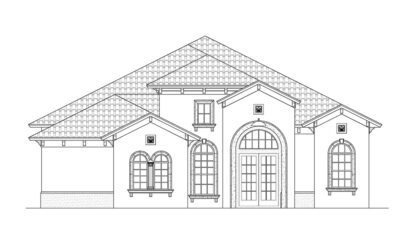 F1-3386 Front Elevation